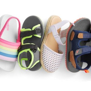 Last Day: 25% - 50% Off + Free ShippingKids Shoes Buy More Save More @ OshKosh BGosh