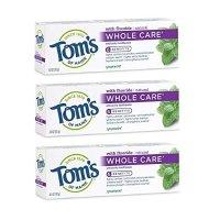 Tom's of Maine 全效型含氟牙膏3支装