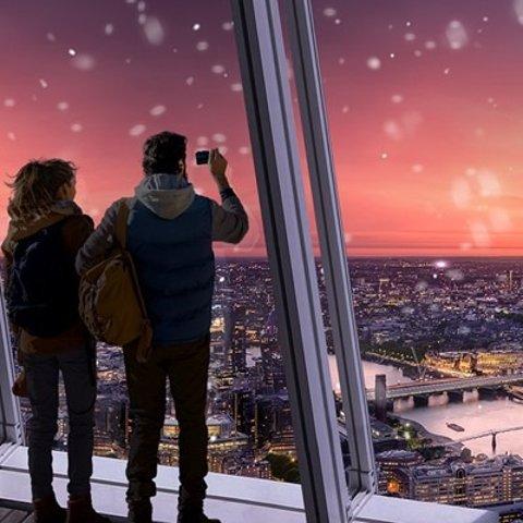 £38/双人(原价£64)The Shard 双人观景票 无需预订 伦敦必去景点