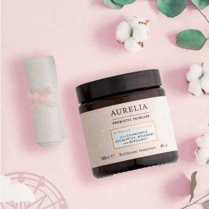 无门槛8折 £33收卸妆洁面Aurelia Skincare 英国高级小众益生菌护肤 夏季大促来袭