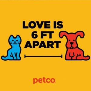 晒宠有奖 分享宠物宅家照Petco相伴非常时期,海量贴士关怀爱宠健康,店内取货9折