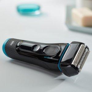 3.5折 €69.95(原价€199.99)史低价:Braun 博朗5系剃须刀热卖  刮走的是岁月 留下的是青春