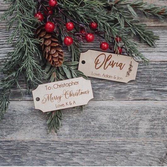 圣诞礼物挂签