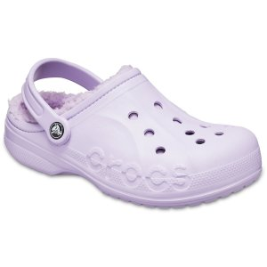 CrocsBaya 加绒洞洞鞋