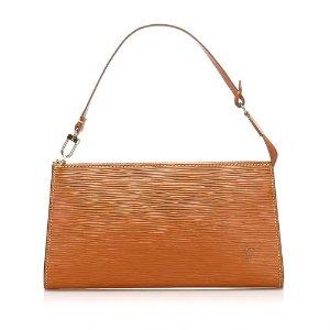 Louis VuittonAPP下单立减€20棕色腋下包
