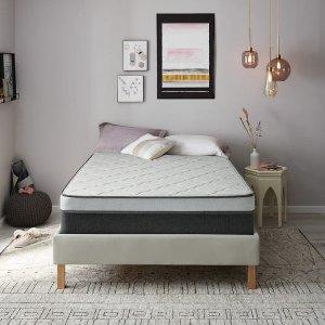 额外7折 $301收睡美人记忆棉硬床垫US Mattress 精选床垫节日清仓大促
