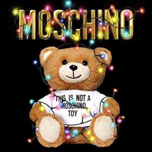 额外2折Moschino 精选短袖、卫衣等热卖