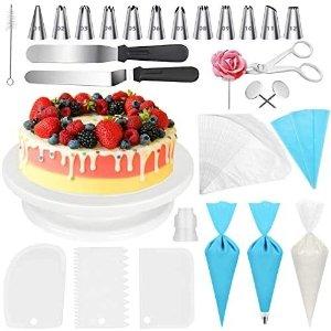 XAZIE 蛋糕裱花装饰75件套,烘焙爱好者必需品