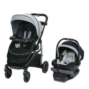 $274.12(原价$429.99)Graco Modes LX 安全座椅+童车旅行套装
