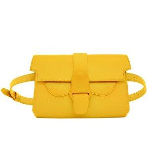 Senreve亮黄色腰包