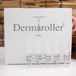 1件即可包税免邮中国史低价:Dermaroller 玻尿酸精华面膜10片¥442、原液30剂¥496
