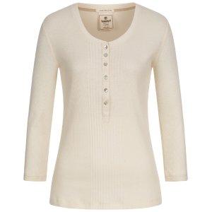 Timberland女式长袖T恤 米色