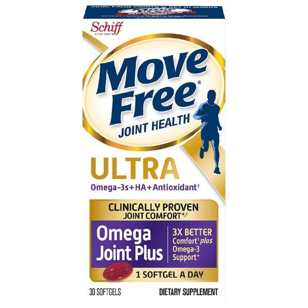 磷虾油Omega + 维骨力