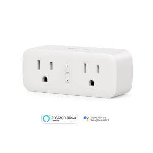 $14.99 Koogeek Wi-Fi Enabled 2 in 1 Smart Plug Compatible with Alexa and Google Assistant