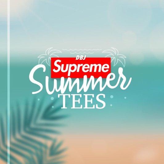 Supreme 夏日T恤系列Supreme 夏日T恤系列