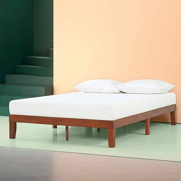 12寸木质床架Queen