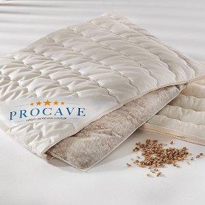 仅售€24.95 健康之选PROCAVE 谷物枕头 可塑性强 支撑力佳 放松肩颈