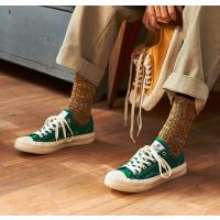 EXCELSIOR 绿色低帮帆布鞋