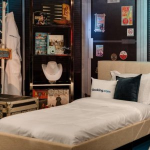 $99 per night with Selfie-ButlerUltimate Slumber Party With the Stars at Madame Tussauds @Booking