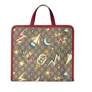 上新啦!Gucci Tote £335Gucci 大童宝藏区 火箭、草莓、限定款系列惊喜上线