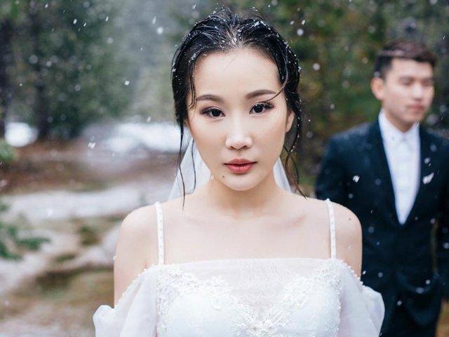 美国旅拍 | 波特兰婚纱之❄️下雪...