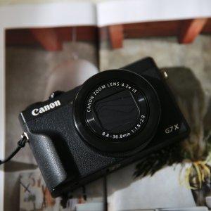 8.5折 立省€116.72Canon G7x Mark III 数码相机 Youtuber人手一台 Vlog好伙伴