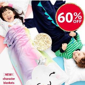 套装$5起+双倍送券+包邮比黑五低:Carter's官网 儿童新款睡衣、睡袋、浴袍、玩具上新