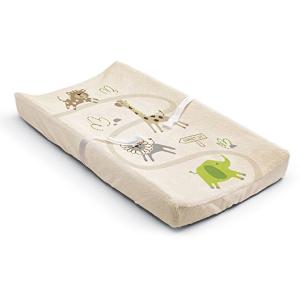 $4Summer Infant Ultra Plush Changing Pad Cover, Safari