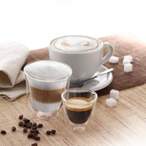 De'Longhi双壁隔热咖啡杯 2个