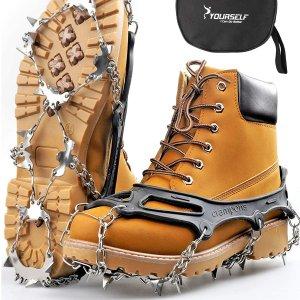 $13.99起加国雪季徒步安心走全靠它  走Trail神器-冰爪一定要拥有