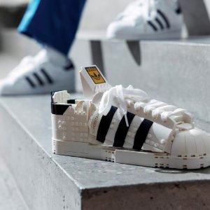 $159.99LEGO x adidas Superstar 10282 阿迪贝壳鞋模型