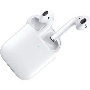 AirPods 2代 无线耳机 带无线充电盒