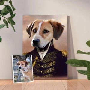 The Admiral - Custom Pet Portraits