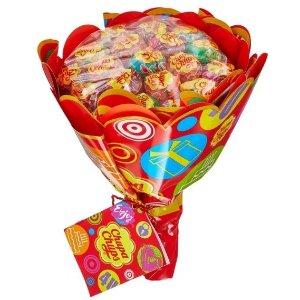 7.5折 19支仅€9.01Chupa Chups 珍宝珠棒棒糖花束 平均€0.47/支 甜到你的心坎儿里