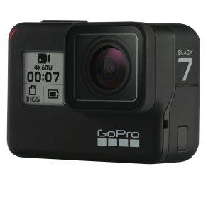 $439 (原价$599)+ 回国可退税超值价:GoPro HERO7 Black 旗舰款运动相机 4K高清防抖