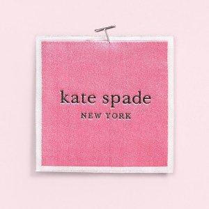低至2.5折+满额再享9折最后一天:Kate Spade New York 惊喜特卖会限时开启