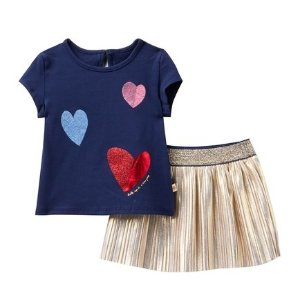 70eb2c70d Kate Spade New Yorktossed hearts skirt set (Baby Girls)