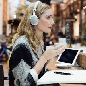 立减到手¥859铁三角 ATH-SR5BT Hi-Res便携头戴式无线蓝牙耳机