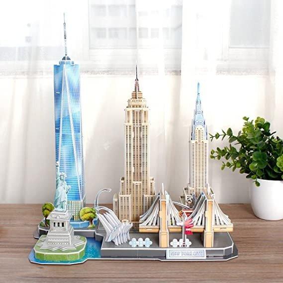 3D拼图 纽约天际线