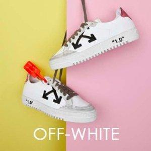 满额享9折 更有毛衣、卫衣上新:Off-White 全新sneaker发布 独家款式只在mytheresa