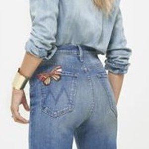 低至5折Mother Denim 精选时尚牛仔裤热卖 女明星都爱穿