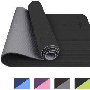 现价£22.99 原价£35.99TOPLUS 瑜伽垫好价热促 多种颜色任你选