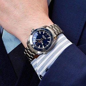 $4495OMEGA Seamaster Planet Ocean Big Size Men's Watch Item No. 232.90.46.21.03.001