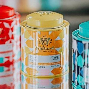 Whittard蜜桃迷你罐茶