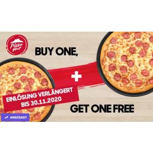 仅需€1 有效期至11月30日Pizza Hut 必胜客买1送1优惠券热卖 爱吃披萨的宝宝有福啦