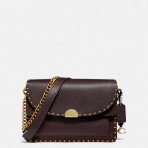 CoachDreamer Shoulder Bag With Rivets