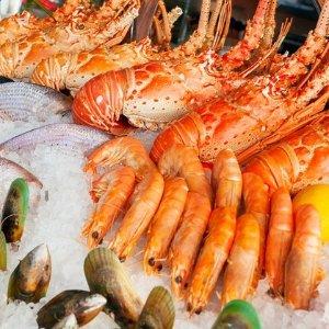 双人$139 (原价$213)Baygarden Restaurant餐厅自助海鲜+龙虾