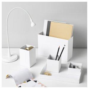 TJENA Desk organizer - white - IKEA