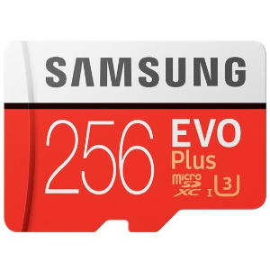 $35.89 包邮Samsung EVO Plus 256GB microSDXC UHS-I U3 存储卡