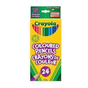 Crayola Coloured Pencils, 24 Pack